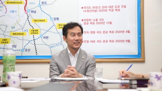 경기북부언론사협회, 김영우(포천.가평) 국회의원 인터뷰 실시
