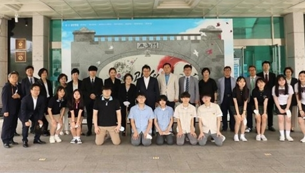 경민학원, 제75주년 8.15 광복절 기념 특별행사 개최