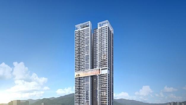 강남 잇는 GTX 의정부역(계획) 역세권, 최고 49층 랜드마크, GS건설 '의정부역스카이자이' 9월 분양 예정